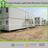 Складывая магазин контейнера дома Китая дома контейнера модульный