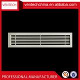 HVACシステムアルミニウム天井リターン空気線形棒グリル