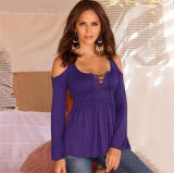 Fashion Simona Cold-Shoulder Gypsy haut (80006)