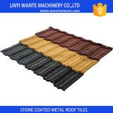 Le mattonelle di tetti d'acciaio rivestite di pietra possono incontrare ogni colore Perference dei clienti
