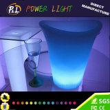 Cubo de hielo de los muebles LED de la barra del sostenedor del vino del RGB