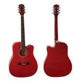 Гитара оптовой продажи фабрики Dreadnaught 41 размера цветастая акустическая