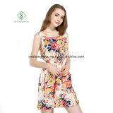 Фабрика платья платья пляжа 2017 способов шифоновая напечатанная сексуальная макси