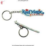 Cute Pig Shape Porte-clés en PVC Keychain (YH-KC013)