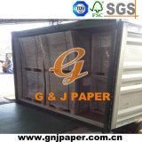 Papel de cartón de viruta de madera pulpa de madera en hoja de venta al por mayor