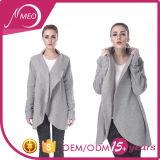 Куртка ватки самой лучшей дешевой лыжи пальто женщин верхнего качества серая длинняя