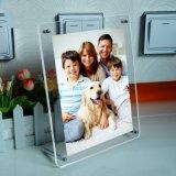 Frame ereto livre do acrílico para a inserção da decoração do retrato da foto