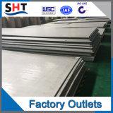 Placa de acero inoxidable de la alta calidad