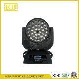 ズームレンズとの36PCS 10W LEDの洗浄移動ヘッド照明