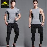 Pantaloni di scarsità personalizzati ultima tuta sportiva della camicia delle calzamaglia degli abiti sportivi dell'uomo Legging