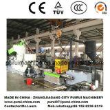 De plastic Enige Machine van de Pelletiseermachine van de Schroef voor de Tentoonstelling Chinaplas van de Rol 2017 van de Film
