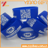 Изготовленный на заказ Wristband силикона Wristband/RFID Кодего Qr (XY-SW-001)