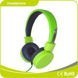 피크 녹색 젊은 동적인 Foldable 입체 음향 타전된 헤드폰 헤드폰