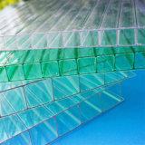 Folha oca do policarbonato para 12mm com proteção UV