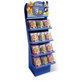 Étalage de sucrerie de chocolat de stand d'étage de carton