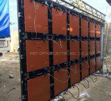 Delgados 640 * 640mm paneles LED P10mm al aire libre de fundición a presión para al aire libre Alquiler