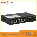 Interruptor do Ethernet do acesso do SFP de 4 gigabits Tx e de 1 gigabit