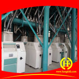 80t Äthiopien Lauf Weizenmehl Fräsmaschine