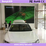 Pantalla de visualización de LED a todo color gigante interior para la publicidad de animación (P4mm)