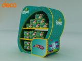 El equipo de la publicidad pop de Nivel 3 - Muestra de suelo para los pañales para bebés