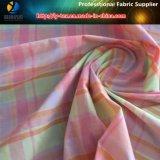 나일론 다채로운 여자 털실에 의하여 염색되는 Shirting 검사 직물