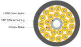 24 Noyau intérieur Breakout Tight Buffer câble à fibre optique (GJBFJV)