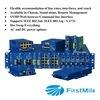 Système géré à lame Media Converter Convertisseur de supports à fibre optique