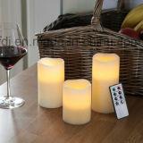 El LED parpadea la luz de té de la vela con el logotipo de impresión, todos los tamaños disponibles