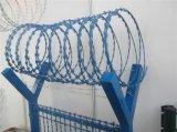 Il recinto di filo metallico galvanizzato Bto-22 del rasoio con il PVC ha ricoperto
