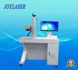 máquina de escritorio de la marca del laser de la fibra 20W con la operación perfecta
