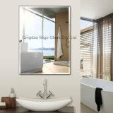 vetro smussato decorativo dello specchio della parete della stanza da bagno di 3-6mm