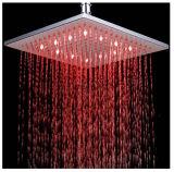 200mm/300mm carré LED de puissance de la tête de douche avec eau