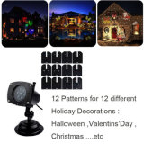 LED Moving Snowflake Garden Laser Projector Lâmpada Light Xmas Party Outdoor Decor