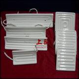 Elemento plano completo/calentador de cerámica infrarrojo