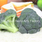 Muy realista PU Modelo Brócoli artificial