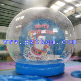 Boule de neige noël Chiristmas gonflable Inflatable Cartoon Santa Claus Chiristmas Globe gonflable moderne
