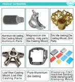 El magnesio, aluminio, Pure-Aluminum, moldeado a presión de Zinc y estampado de cera perdida y piezas de fundición a la cera perdida