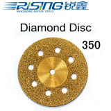 350 티타늄을%s 가진 치과 다이아몬드 디스크