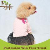 Любимчика продуктов платья собаки поставкы одежды милого теплые