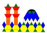 Blocs Motif plastique jouet éducatif / plastique / Jouets