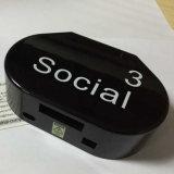 Boîtier en plastique d'injection de boîte de dialogue personnalisée pour les appareils électroniques