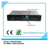Amplificador óptico portuario multi CATV EDFA de Fullwell FTTH Pon CATV con el Wdm para Gpon