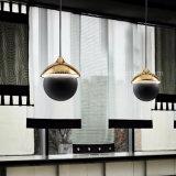 Dlss личности висел железный шарик светодиодного освещения в современном стиле подвесной светильник с маркировкой CE/UL