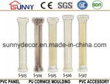 Columna romana romana del yeso romano Column/PU de la columna del poliuretano