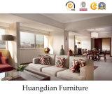 高品質ファブリックホテルのスイートルームの現代ホテルの寝室の家具(HD421)