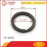 Le joint circulaire de logo personnalisent le joint circulaire fendu de boucle principale