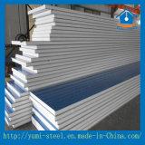 壁または屋根の構築のための耐火性および軽量EPSサンドイッチパネル