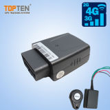 OBD Voiture GSM/GPRS véhicule Tracker GPS avec Ios et Android app/SMS (TK208-KW)