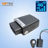 Traqueur GPS de véhicule de véhicule d'OBD GSM/GPRS avec IOS/APP/SMS androïde (TK208-KW)