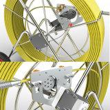 Sistema da câmera da inspeção da tubulação de esgoto com contador do comprimento & placas chaves